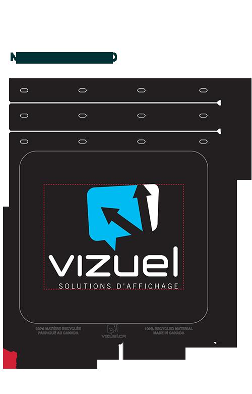 Truck mudguards 24*30-Vizuel